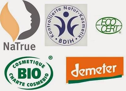 Pięć certyfikatów potwierdzających naturalność kosmetyku