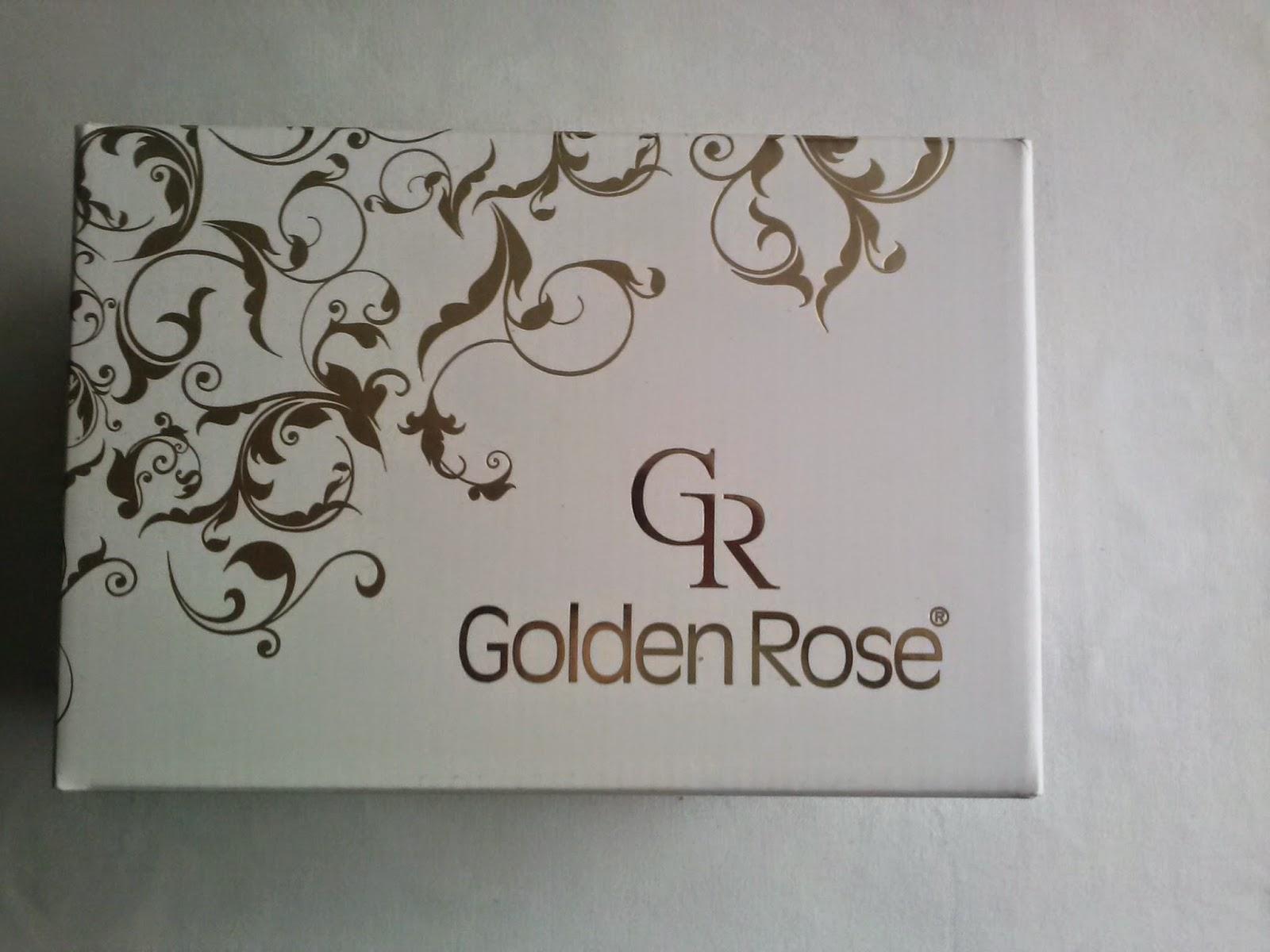 Co kryje się w pudełeczku Golden Rose?