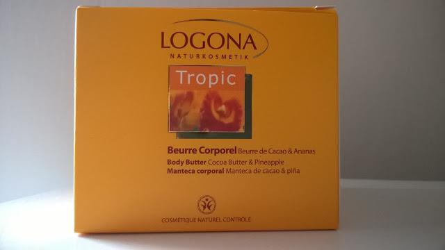 Logona – kakaowe masło do ciała z ananasem